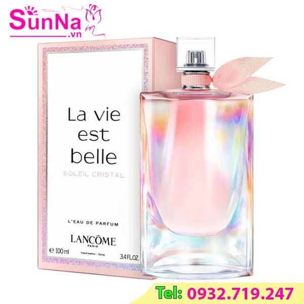 Nước hoa Lancome La Vie Est Belle Soleil Cristal EDP 100ml