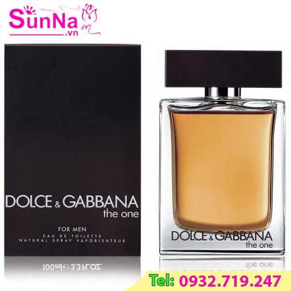 Nước hoa Dolce & Gabbana D&G - The One For Men EDT 100ml